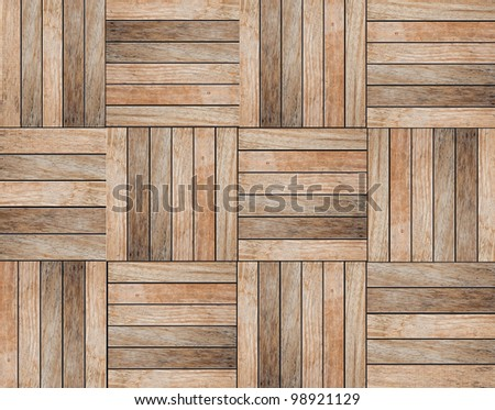 wood floor Background - stock photo