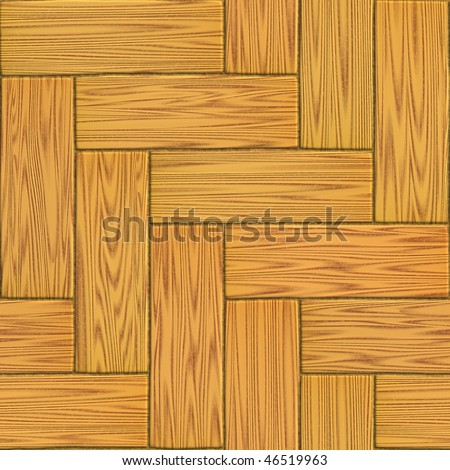Wood floor ( tileable - seamless  texture ) - stock photo