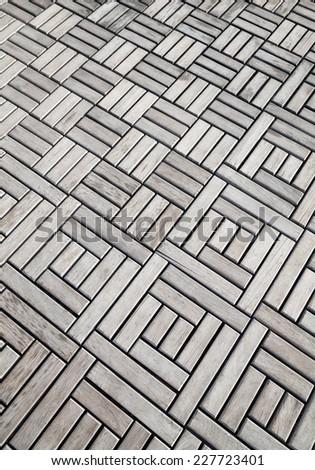wood floors Patterned - stock photo