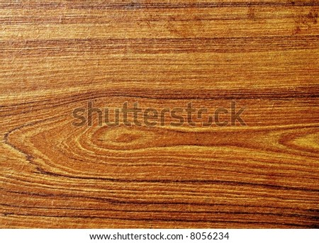 Wood Grain background useful for making fonts - stock photo