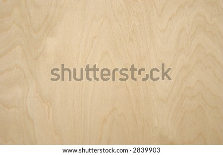 wood grain panel - stock photo