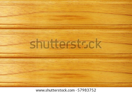 wood pattern horizontal - stock photo