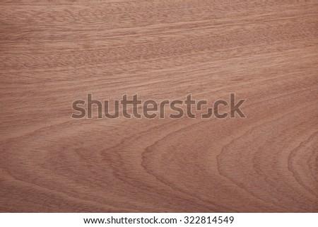 Wood Pattern, Raw Mahogany wood - stock photo