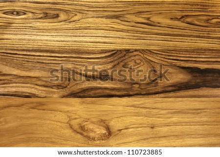 Wood pattern, Solid Teak - stock photo