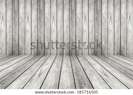 wood perspective background for room interior - stock photo