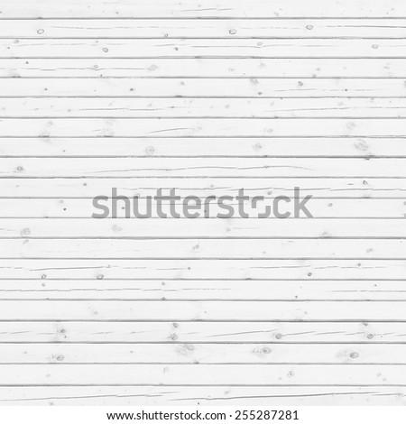 Wood pine plank white texture background - stock photo