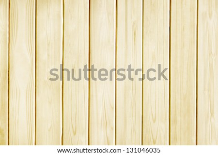 Wood pine plank yellow texture for background - stock photo