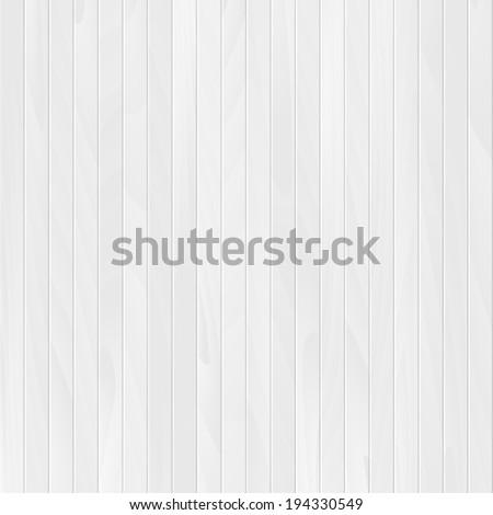 wood plank backdrop, white texture background illustration - stock photo