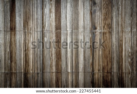 Wood Plank Background - faded wood - stock photo