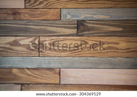 Wood plank brown texture background. Perfect background for your design. All the knot-free boards are milticoloured.
