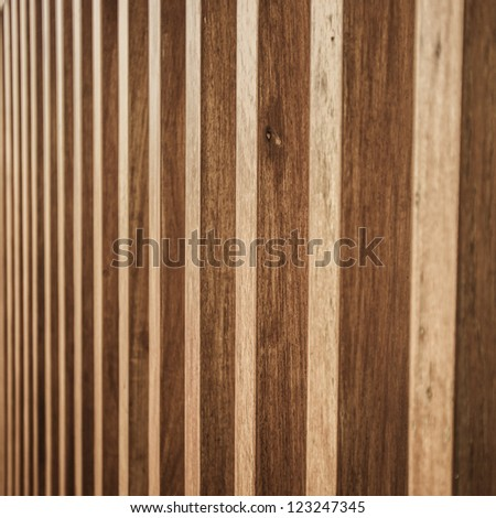 Wood plank brown texture background perspective - stock photo