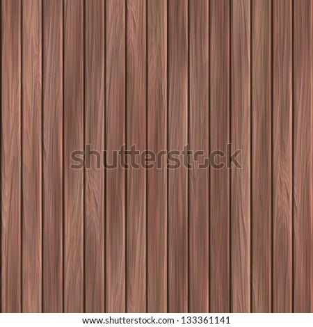 Wood plank. Seamless texture. - stock photo