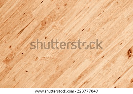 wood plank wall with diagonal pattern - stock photo