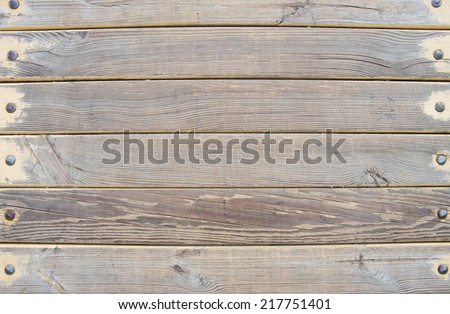 wood planks - stock photo