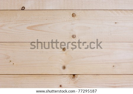 Wood planks for a wall - stock photo