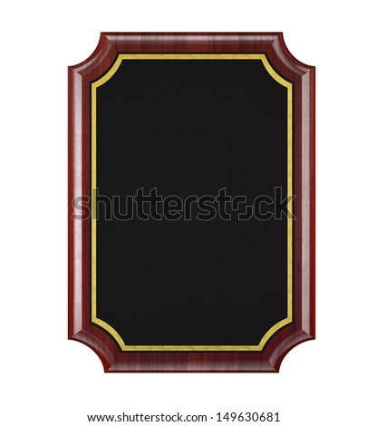 Wood Plaque