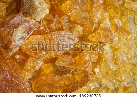 wood resin - stock photo