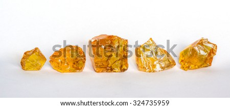 wood resin - stock photo