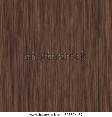 Wood seamless plank wall texture or background - stock photo
