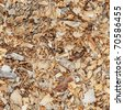 Wood shavings - seamless texture - stock photo