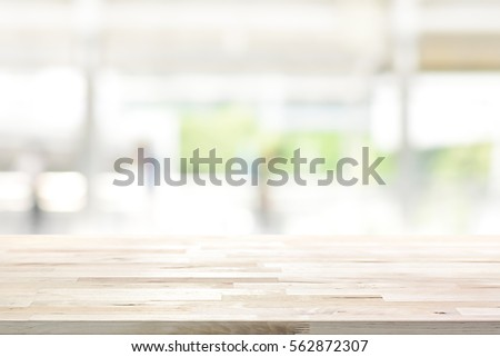 Kitchen Table Top Background wood table top on blur kitchen stock photo 562872307 - shutterstock