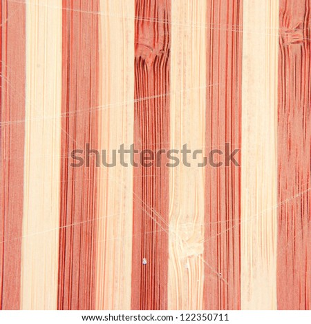 Wood texture as a background.
