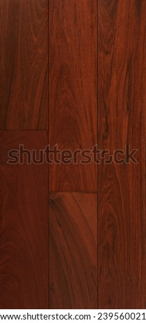 Wood texture background for design,  Ipe Lapacho board . - stock photo