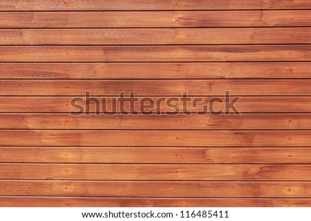 Wood Texture Background in Horizontal Pattern, Natural Color. - stock photo