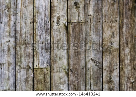 wood texture, background old wooden board - stock photo