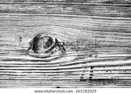 Wood texture barn board black and white photo - stock photo