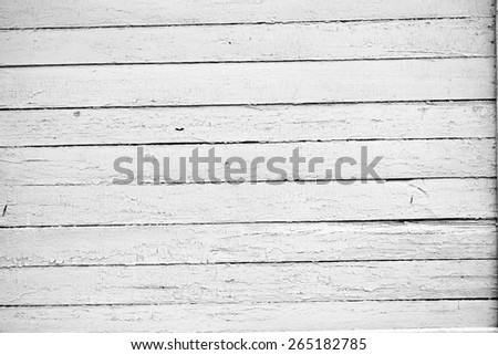 Wood texture barn board black and white photo - stock photo