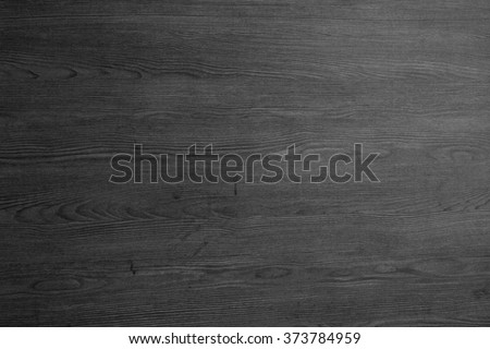 wood texture - black blank plank surface shiny wooden wall floor frame exterior panel timber material grey background - stock photo