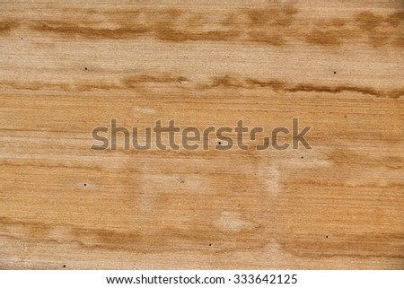 wood texture - brown blank plank surface shiny wooden wall floor frame exterior panel timber material background - stock photo