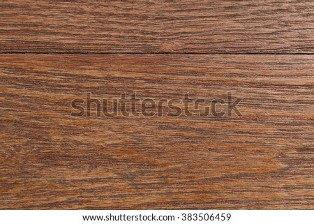 Wood texture close up - Maintaining of wooden surfaces with fresh protective paint. - stock photo