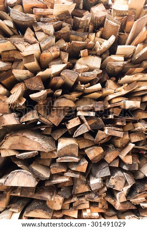 Wood Texture - Ecological Background - stock photo