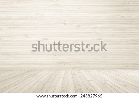 Wood texture floor and wall  - stock photo