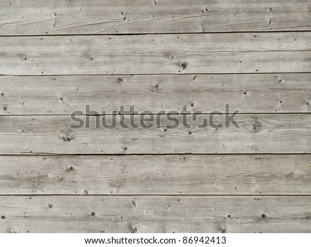 Wood texture from old barn - stock photo