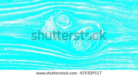Wood Texture Of Bright Turquoise Color Background