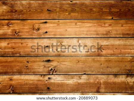 Wood texture. ( old boards ) - stock photo