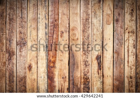 Wood texture or wood background old panels for design white copy space for text or image. Dark edged. - stock photo