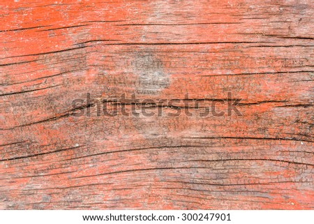 wood texture - red brown blank plank surface shiny wooden wall floor frame exterior panel timber material background - stock photo