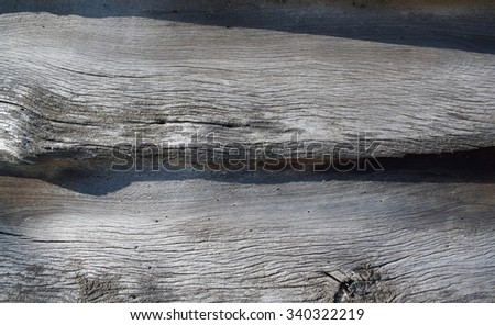 Wood Texture, strong shadow - stock photo