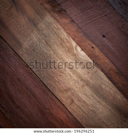 wood texture used for desing retro background - stock photo