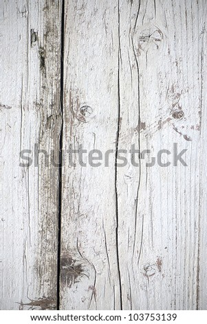 Wood texture (White) - stock photo