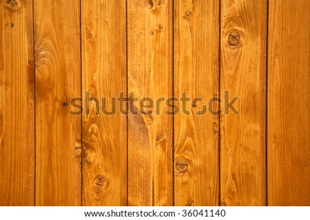 Wood texture with vertical lines. - stock photo