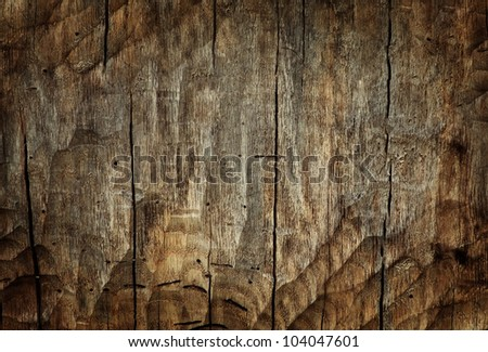 Wood textured board for background - stock photo