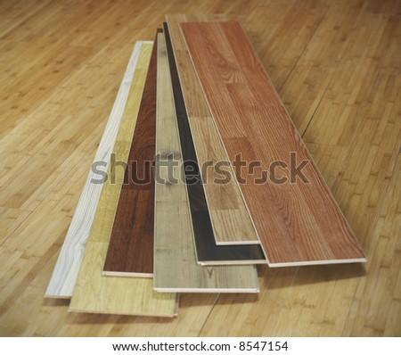 Wood textures - stock photo