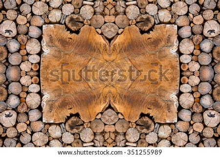 Wood textures for background. - stock photo