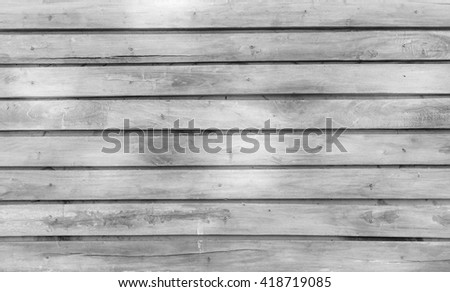 wood tiles background, black and white tone - stock photo