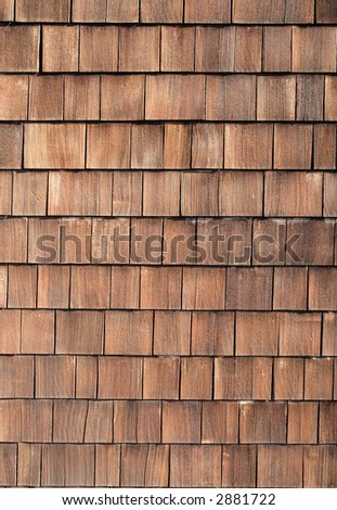Wood tiles close up background.